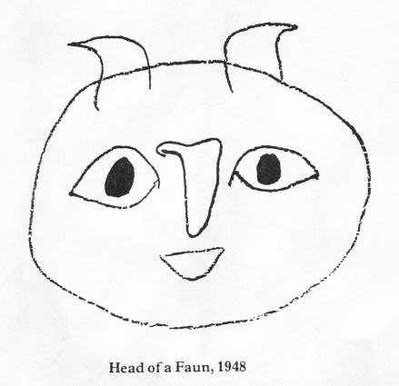 PicassoHeadofaFawn1948a